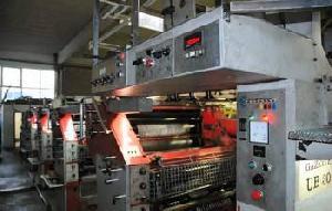 creusot loire rotary offset press 1981