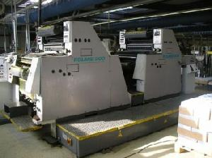 man r 204 tob four colour offset printing machine