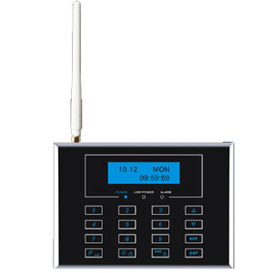 intelligent gsm home alarm system