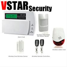 vstar security gsm wireless burglar alarm system