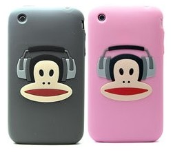apple silicone case paul frank 3g 3gs