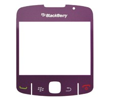 blackberry curve 8520 lcd lens screen purple
