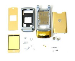 housing faceplate cover motorola krzr k1 golden