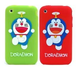 doraemon silicone skin case apple iphone 3gs 3g