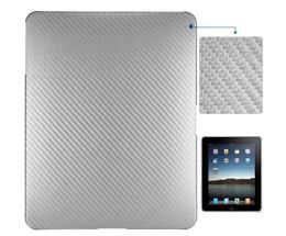 fiber hard case ipad silver