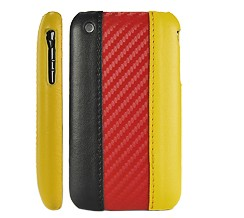 germany flag leather hard case cover apple iphone 3gs 3g