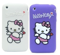 hello kitty silicone case skin cover apple iphone 3gs 3g