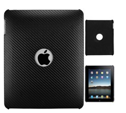 hole carbon fiber hard case ipad
