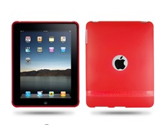 hole soft silicone skin case cover ipad
