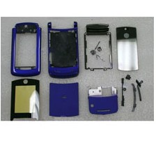 housing faceplate cover motorola razr2 v8 blue