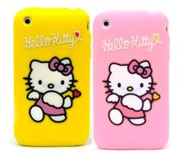 iphone silicone case hello kitty