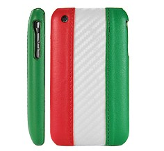 italy flag leather hard case cover apple iphone 3gs 3g