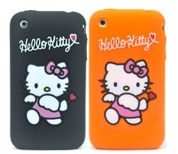 protect iphone 3g 3gs hello kitty silicone case