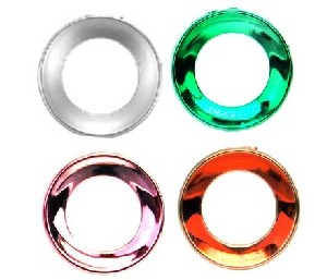 replacement chrome trackball ring