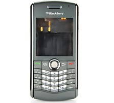 housing faceplate cover grey blackberry pearl 8110 8120