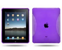 silicone skin case ipad purple