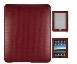 texture weave leather skin case ipad