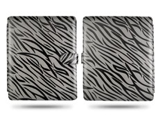 zebra magnetic flip leather case cover pouch ipad