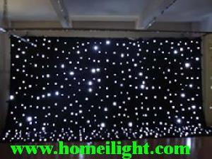 led star curtain cloth light stage