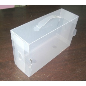 clear palstic empty shoe storage container box