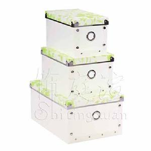 clothing storage box household collection case houseware
