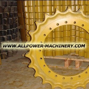 sprockets segments earthmoving