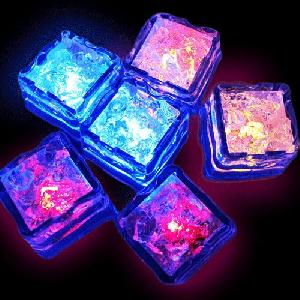 led light up ice cube