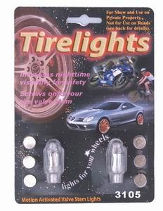 led light up tyre safty