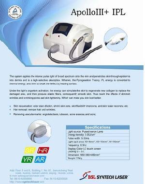 distributors apollo iii ipl beauty equipment