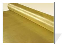 brass wire cloth pieces processed
