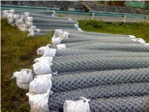 galvanized chain link fence pvc coated fences