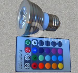 rgb led bulb e27 ir remote control