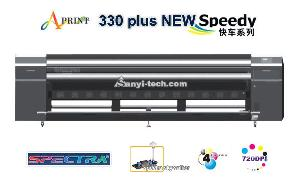 aprint 330sw speedy solvent printer