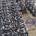 jis marine cast steel screw check globe valve
