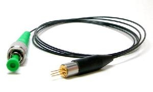 405nm coaxial package diode laser pm fiber