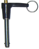 l handle quick release pin ball lock