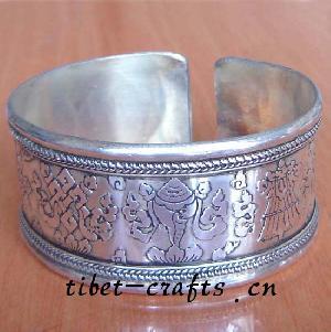 tibetan eight auspicious symbols bracelet