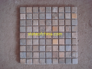 rustic slate mosaic slateofchina