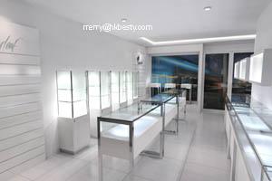 mdf jewelry display showcases