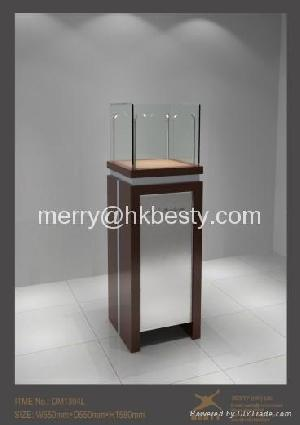 jewelry display case cabinet showcase shop