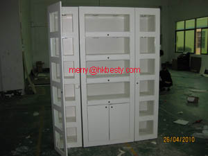 wall cabinets jewelry store