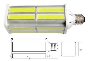 e27 flat led bulb street light yard lighting