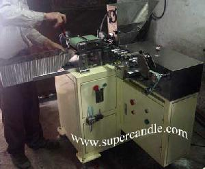 crayon label wrapping machine