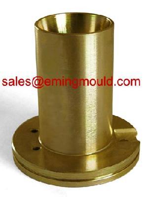 industries partie métallique en laiton pièces cnc lattage