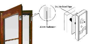 magnetic door sensor alarm system
