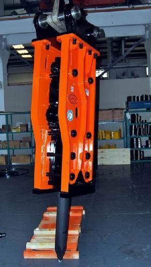 hydraulic hammer breaker excavator attachment