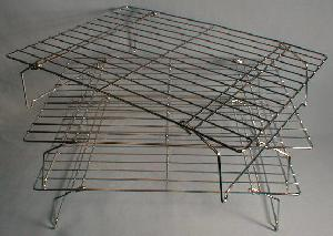 stackable cooling rack stainless steel