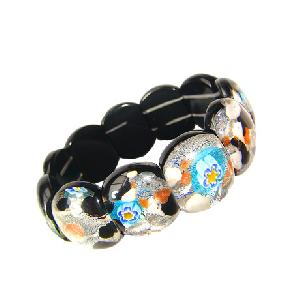 millefiori murano stones bracelet wholesale
