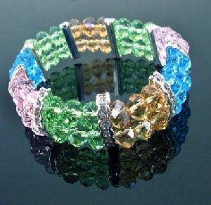 wholesale crystal cut bracelets
