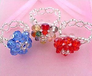 wholesale crystal rings